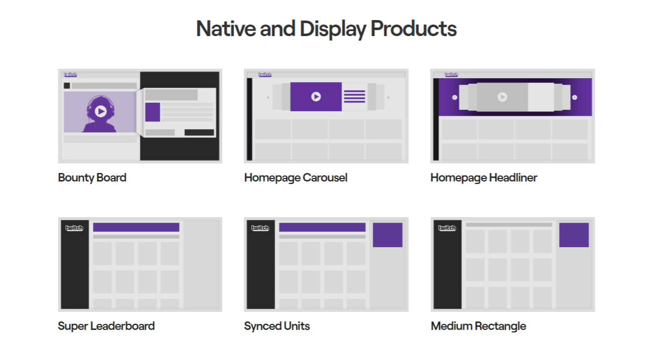 Native and Display Products